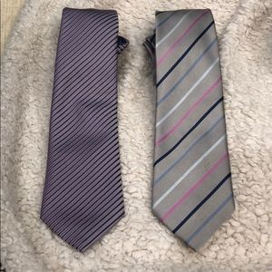 2 for $35 100% silk Charles Tyrwhitt ties.